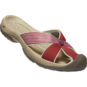 Keen Bali Sandals Women fired brick/tulipwood